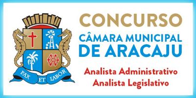 CÂMARA MUNICIPAL DE ARACAJU - ANALISTA
