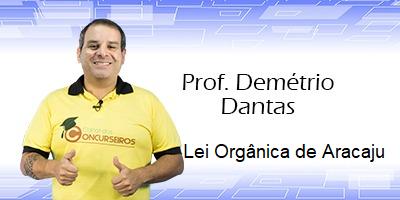 LEI ORGÂNICA DE ARACAJU