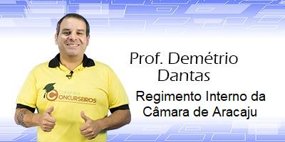 REGIMENTO INTERNO CÂMARA DE ARACAJU