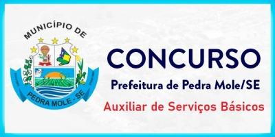 PEDRA MOLE - AUXILIAR DE SERVIÇOS BÁSICOS