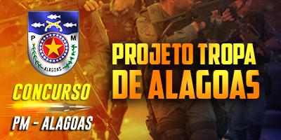 CURSO ONLINE TROPA DE ALAGOAS