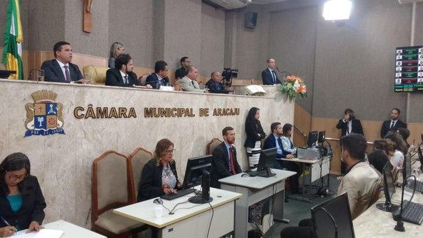 Câmara de Vereadores de Aracaju autoriza Concurso Público